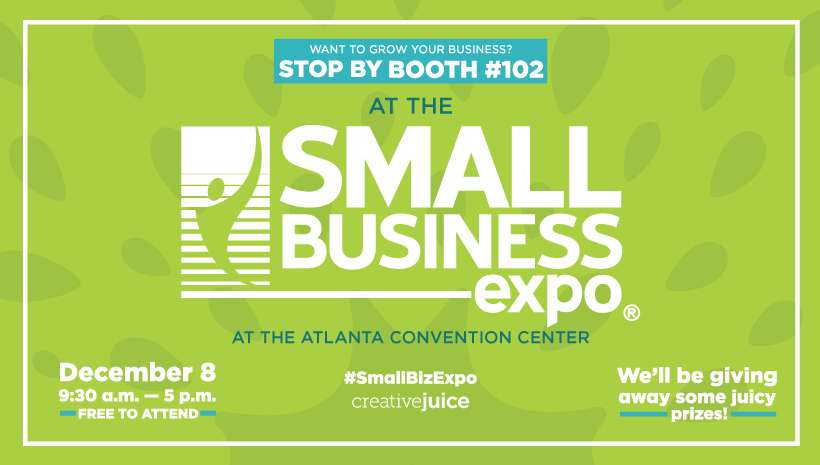 Creative Juice To Exhibit At Atlanta Small Business Expo