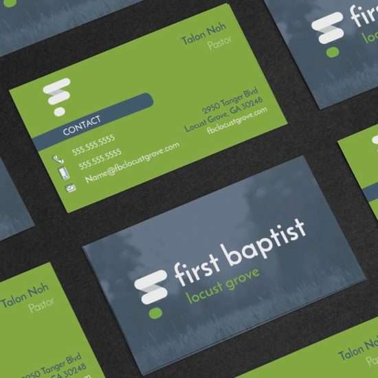 Atlanta church logo design