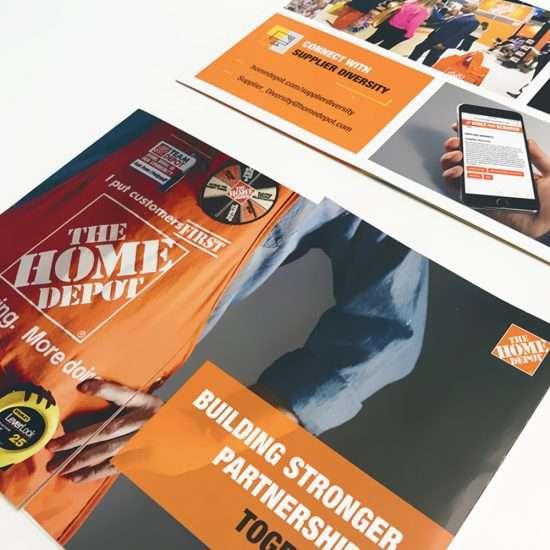 Atlanta brochure print design