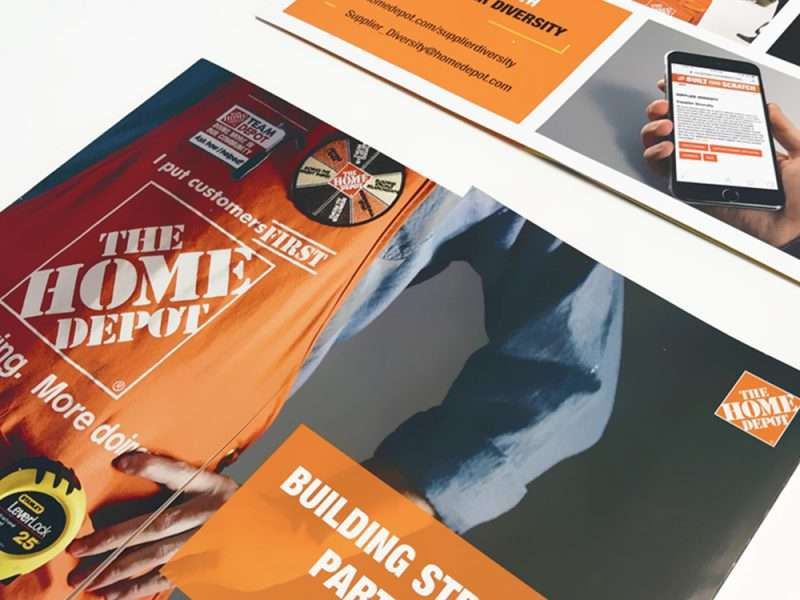 Atlanta brochure print design