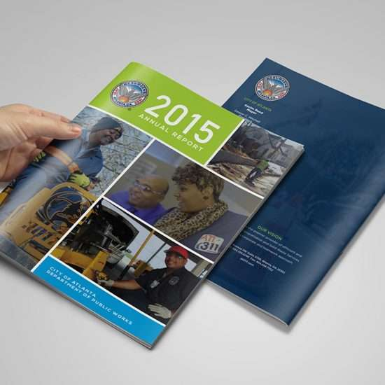 Atlanta annual report design