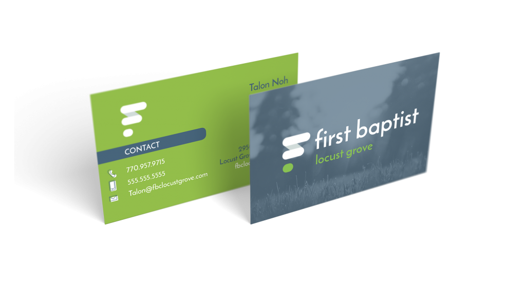 Atlanta church logo and branding design