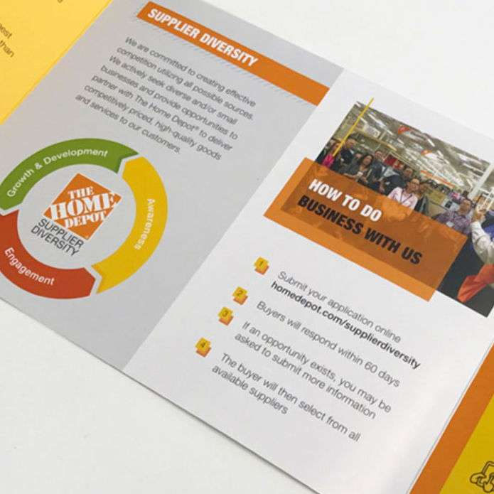 Atlanta print brochure design