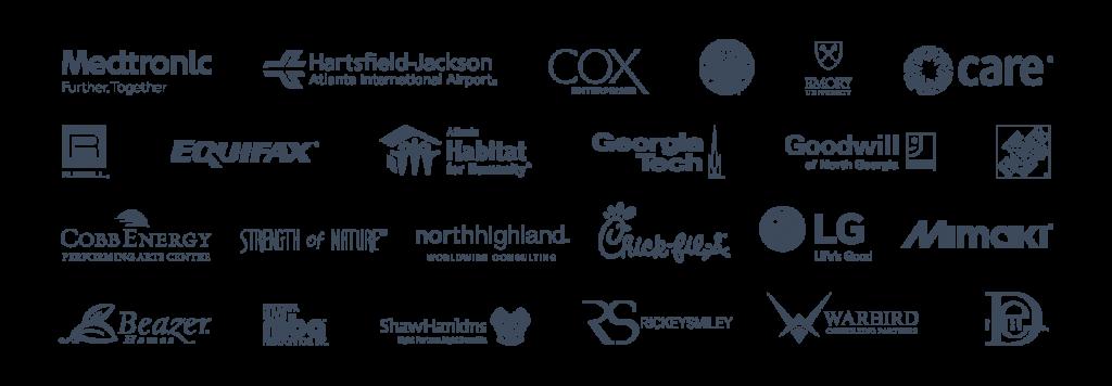 Creative Juice client logos