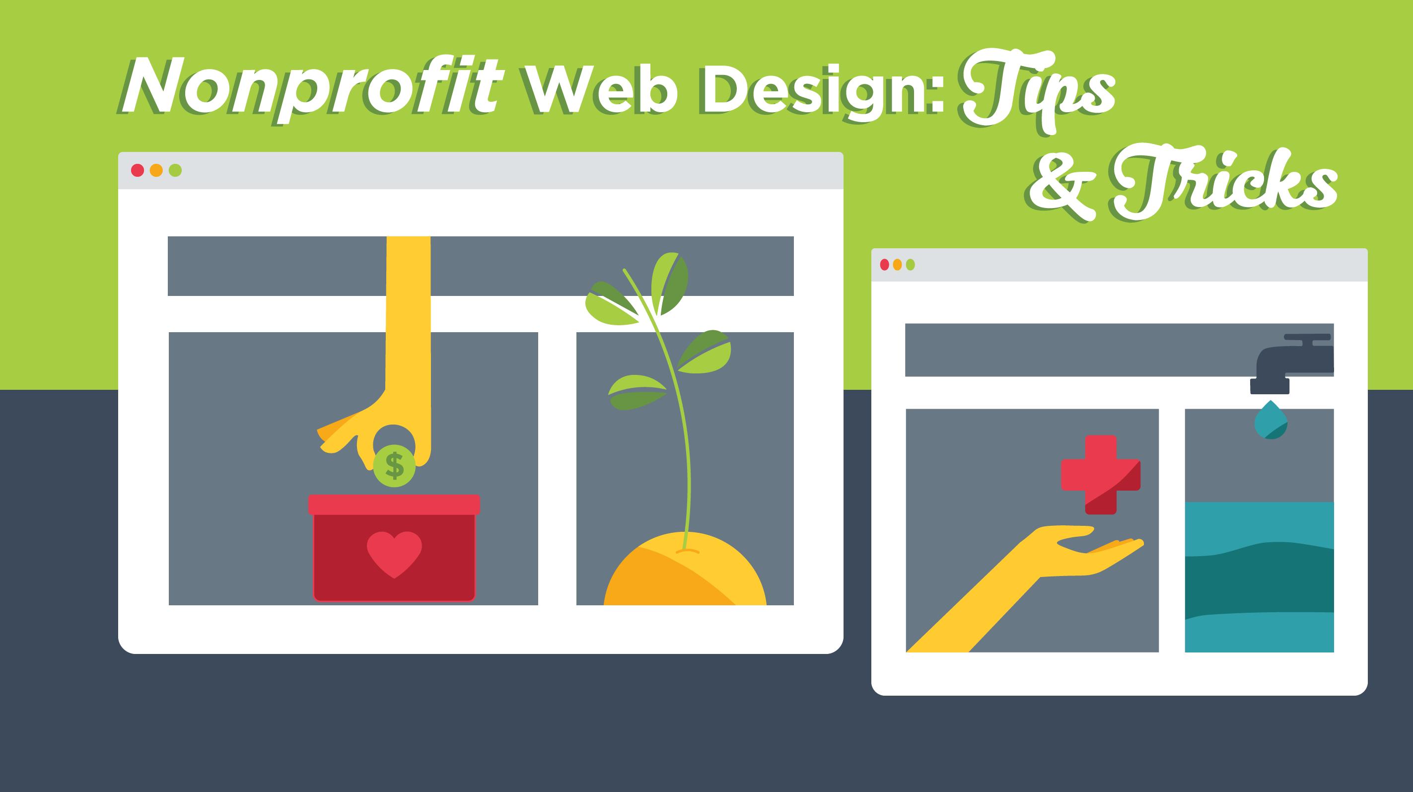 Nonprofit Web Design Tips Tricks